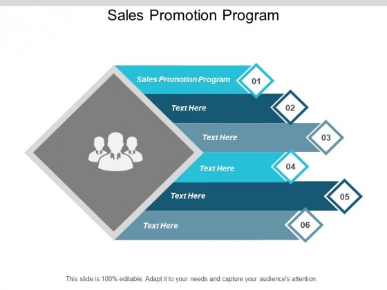 Sales Promotion Program Ppt PowerPoint Presentation Gallery Graphics Design