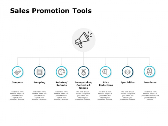 Sales Promotion Tools Ppt PowerPoint Presentation Ideas Show