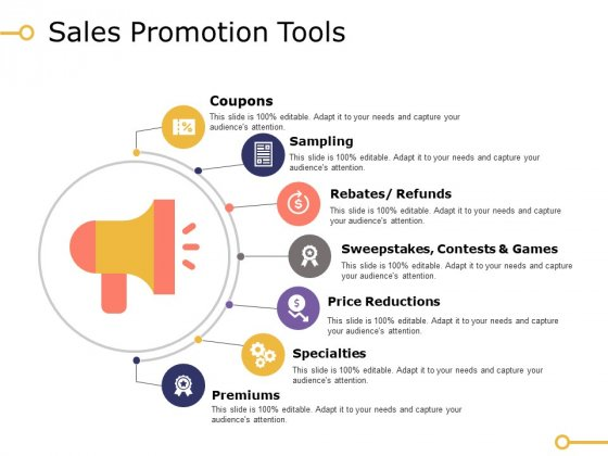 Sales Promotion Tools Ppt PowerPoint Presentation Inspiration Designs Download