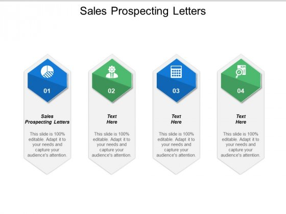 Sales Prospecting Letters Ppt PowerPoint Presentation Show Infographic Template Cpb