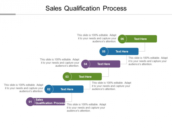 Sales Qualification Process Ppt PowerPoint Presentation Ideas Format Cpb