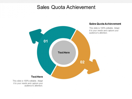 sales quota achievement ppt powerpoint presentation pictures example cpb