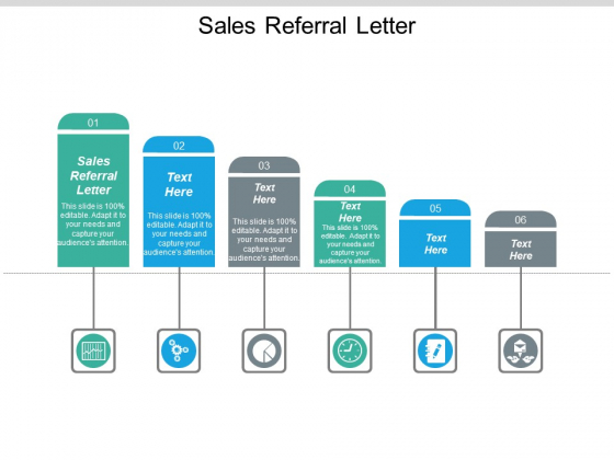 Sales Referral Letter Ppt PowerPoint Presentation Styles Example File Cpb