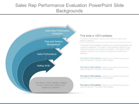 Sales Rep Performance Evaluation Powerpoint Slide Backgrounds