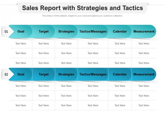 Sales_Report_With_Strategies_And_Tactics_Ppt_PowerPoint_Presentation_Ideas_Graphic_Images_Slide_1