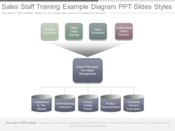 Sales Staff Training Example Diagram Ppt Slides Styles
