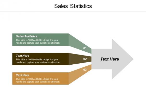 Sales Statistics Ppt Powerpoint Presentation Portfolio Introduction Cpb
