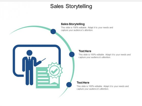 Sales Storytelling Ppt PowerPoint Presentation Summary File Formats Cpb