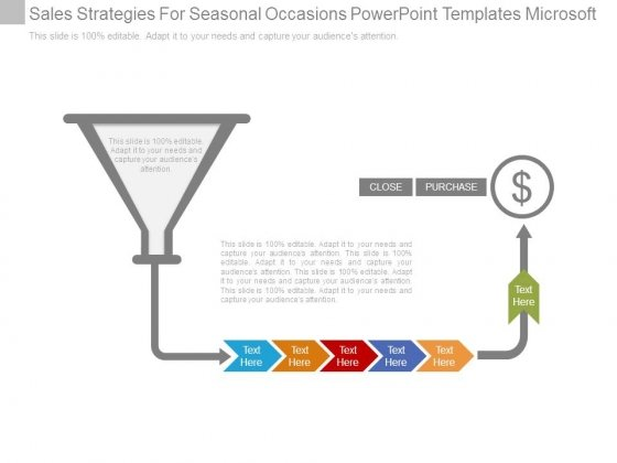 Sales Strategies For Seasonal Occasions Powerpoint Templates Microsoft