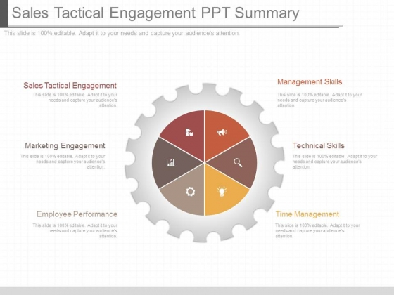 Sales Tactical Engagement Ppt Summary