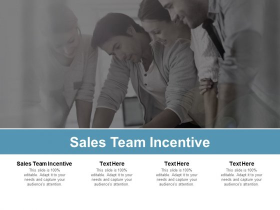 Sales Team Incentive Ppt PowerPoint Presentation Layouts Shapes Cpb