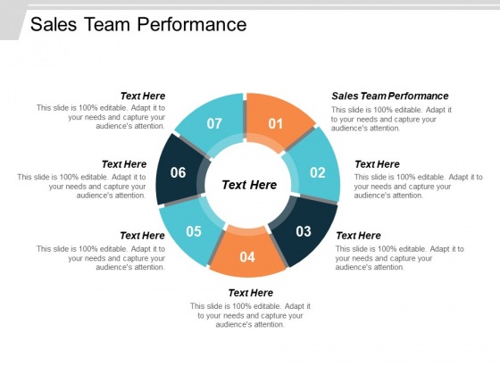 Sales Team Performance Ppt PowerPoint Presentation File Layouts Cpb
