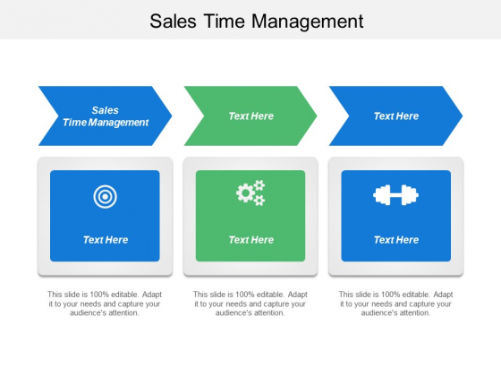 Sales Time Management Ppt PowerPoint Presentation Visual Aids Infographic Template Cpb