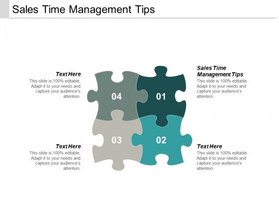 Sales Time Management Tips Ppt PowerPoint Presentation Summary Portrait Cpb