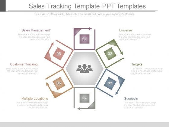 Sales Tracking Template Ppt Templates
