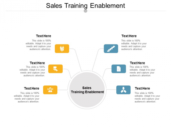 Sales Training Enablement Ppt PowerPoint Presentation Icon Designs Download Cpb