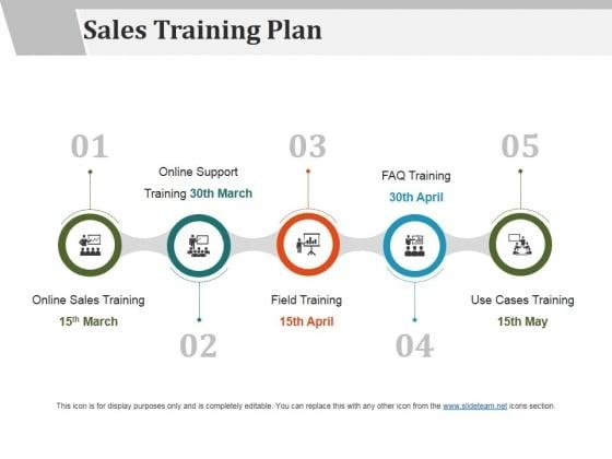 sales training plan ppt powerpoint presentation icon graphics