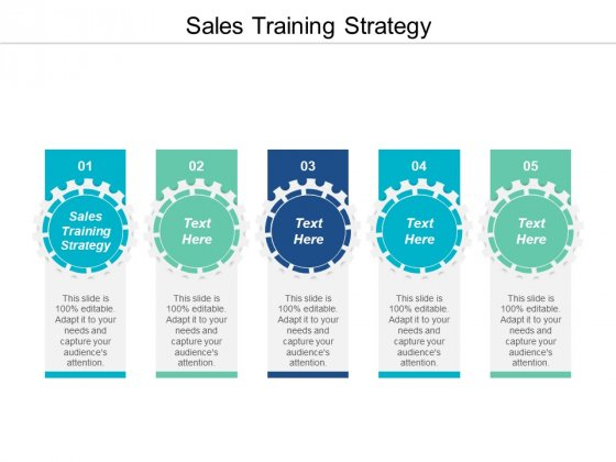 Sales Training Strategy Ppt PowerPoint Presentation Visual Aids Pictures Cpb