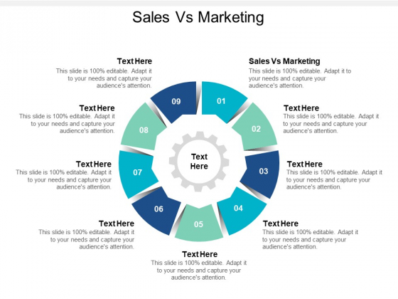 Sales Vs Marketing Ppt PowerPoint Presentation Styles Graphic Images Cpb