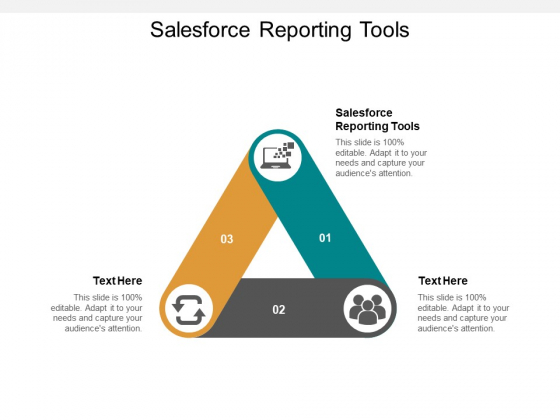 Salesforce Reporting Tools Ppt PowerPoint Presentation Infographic Template Gridlines Cpb