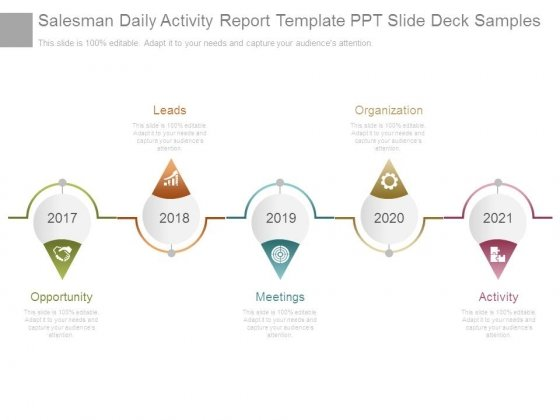 Salesman Daily Activity Report Template Ppt Slide Deck Samples – Daily Activity Report Template