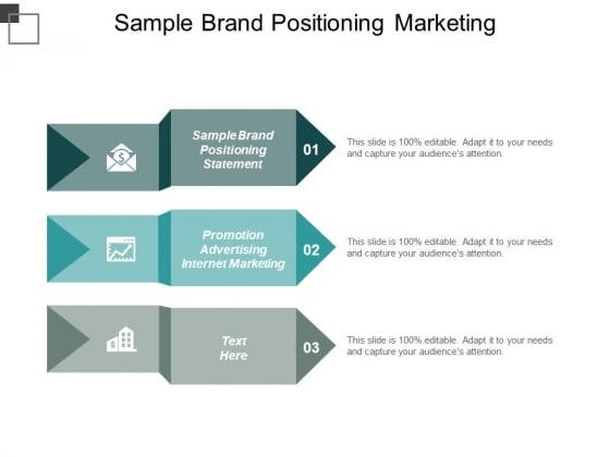 Sample Brand Positioning Statement Promotion Advertising Internet Marketing Ppt PowerPoint Presentation Gallery Portrait