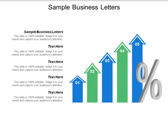 Sample Business Letters Ppt PowerPoint Presentation Summary Aids Cpb
