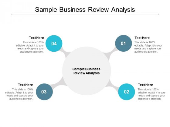 Sample Business Review Analysis Ppt PowerPoint Presentation File Gridlines Cpb