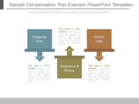 Sample Compensation Plan Example Powerpoint Templates  Powerpoint