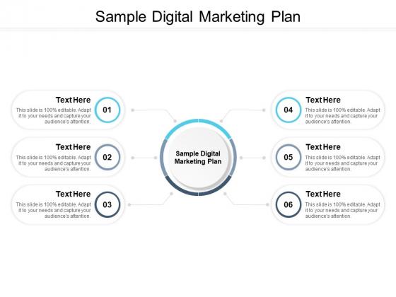 Sample Digital Marketing Plan Ppt PowerPoint Presentation Slides Example Topics Cpb Pdf