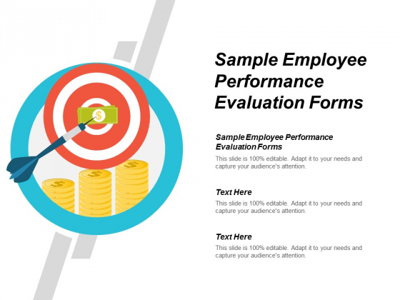 Sample Employee Performance Evaluation Forms Ppt Powerpoint Presentation Summary Slides Cpb