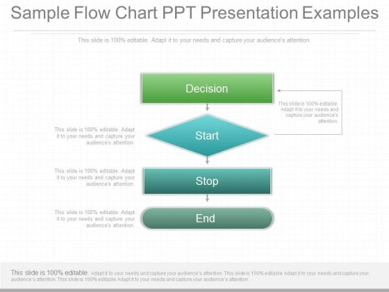 Sample Flow Chart Ppt Presentation Examples