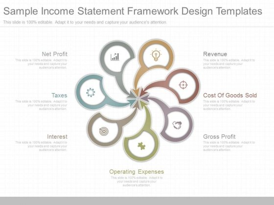 Sample Income Statement Framework Design Templates