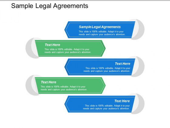 Sample Legal Agreements Ppt PowerPoint Presentation Infographics Slides Cpb