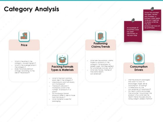 Sample Market Research And Analysis Report Category Analysis Ppt Infographic Template Smartart PDF