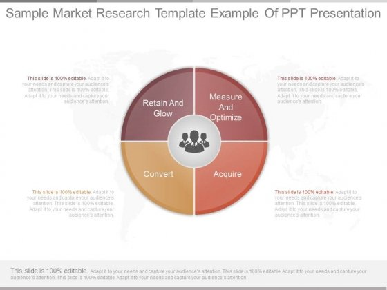 Sample Market Research Template Example Of Ppt Presentation