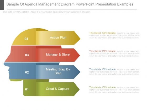 sample of agenda management diagram powerpoint presentation examples