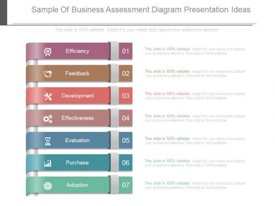 Sample Of Business Assessment Diagram Presentation Ideas