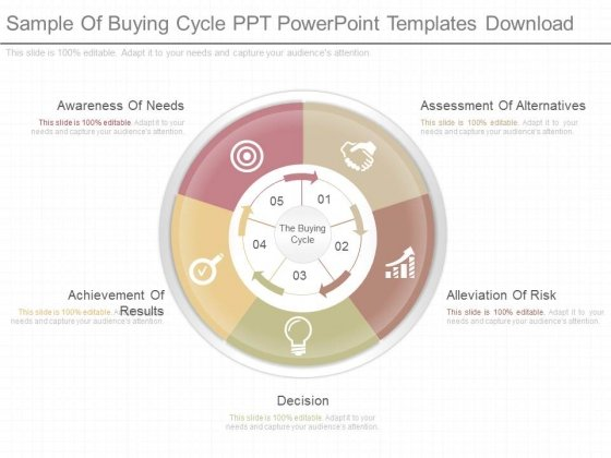 Sample Of Buying Cycle Ppt Powerpoint Templates Download