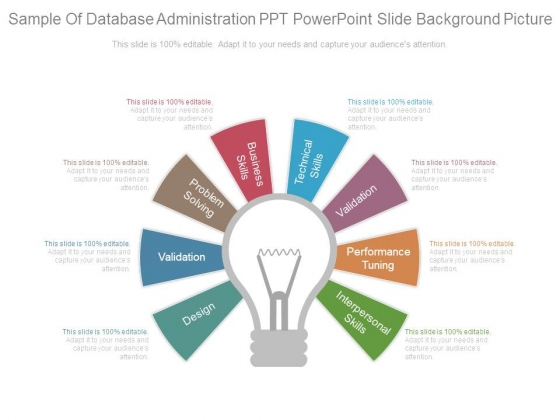 Sample Of Database Administration Ppt Powerpoint Slide Background Picture