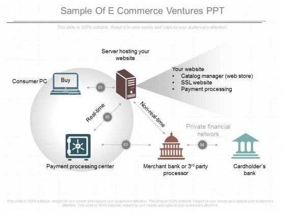 Sample Of E Commerce Ventures Ppt