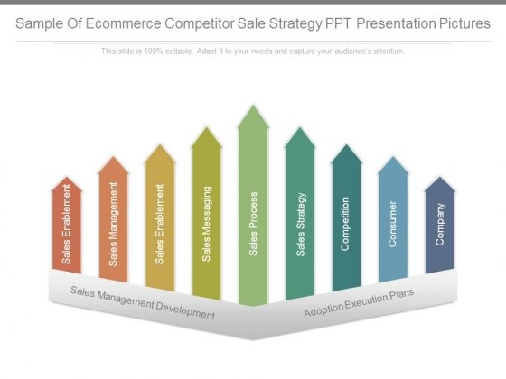 Sample Of Ecommerce Competitor Sale Strategy Ppt Presentation Pictures