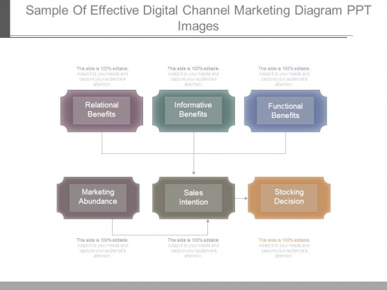 Sample Of Effective Digital Channel Marketing Diagram Ppt Images