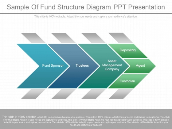 Sample Of Fund Structure Diagram Ppt Presentation