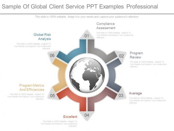 Sample Of Global Client Service Ppt Examples Professional