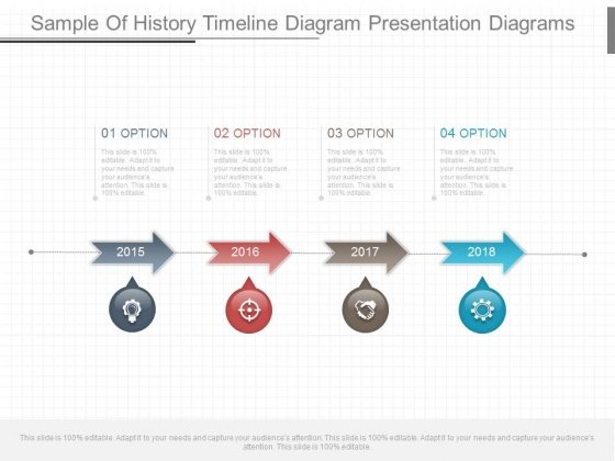 sample of history timeline diagram presentation diagrams, Powerpoint templates