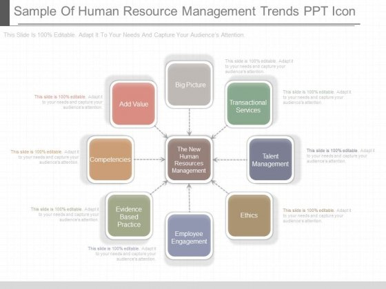 Sample Of Human Resource Management Trends Ppt Icon