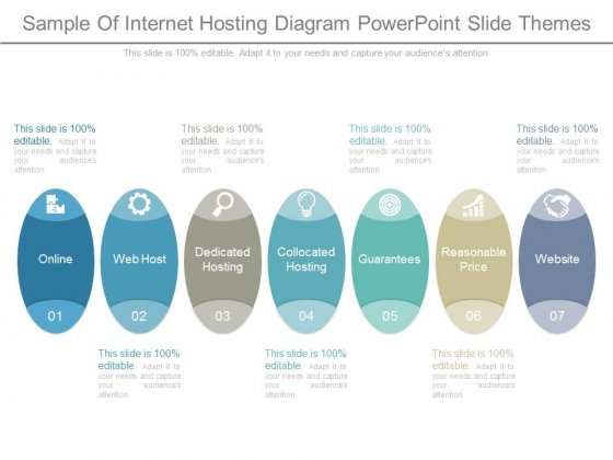 Sample Of Internet Hosting Diagram Powerpoint Slide Themes