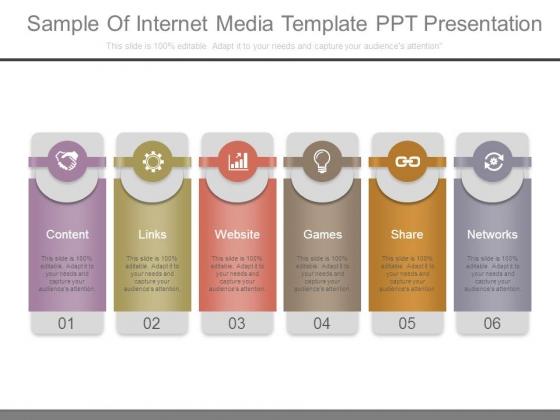 Sample Of Internet Media Template Ppt Presentation