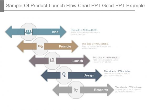 Sample Of Product Launch Flow Chart Ppt Good Ppt Example